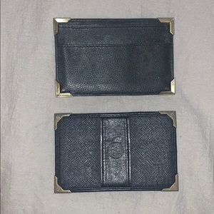 FENDI rare cardholders set of 2!